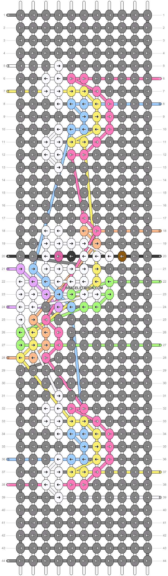 Alpha pattern #73443 variation #134740 pattern