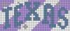 Alpha pattern #72823 variation #135403
