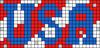 Alpha pattern #74096 variation #135969
