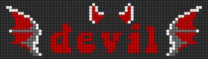 Alpha pattern #57958 variation #135976