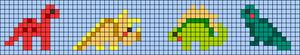 Alpha pattern #54167 variation #136195