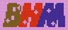 Alpha pattern #74453 variation #136288