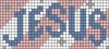 Alpha pattern #74356 variation #136345