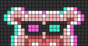 Alpha pattern #74466 variation #136494