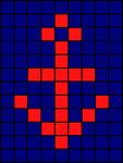 Alpha pattern #481 variation #136503