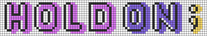 Alpha pattern #74275 variation #136947