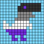 Alpha pattern #74885 variation #137115