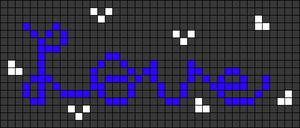 Alpha pattern #74872 variation #137121