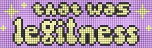 Alpha pattern #74929 variation #137363