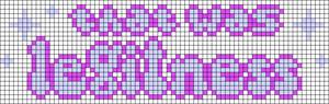 Alpha pattern #74929 variation #137421