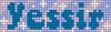Alpha pattern #75187 variation #137531
