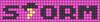 Alpha pattern #20083 variation #137605