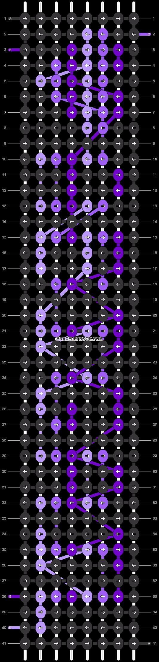 Alpha pattern #3913 variation #137852 pattern