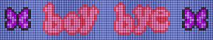 Alpha pattern #75292 variation #138209