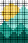 Alpha pattern #75522 variation #138730