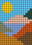 Alpha pattern #31520 variation #138873