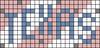 Alpha pattern #76037 variation #139001