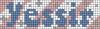 Alpha pattern #75187 variation #139548