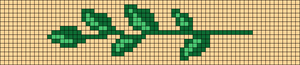 Alpha pattern #50674 variation #140836