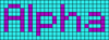 Alpha pattern #696 variation #141090