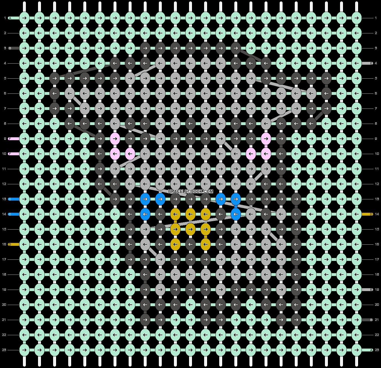 Alpha pattern #44686 variation #141167 pattern