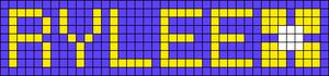 Alpha pattern #3657 variation #141385