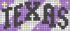 Alpha pattern #72823 variation #141931