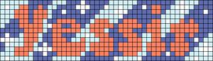 Alpha pattern #75187 variation #142029