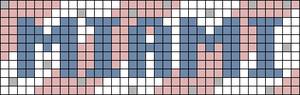 Alpha pattern #77932 variation #142132