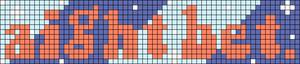Alpha pattern #77968 variation #142373