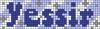 Alpha pattern #75187 variation #142704