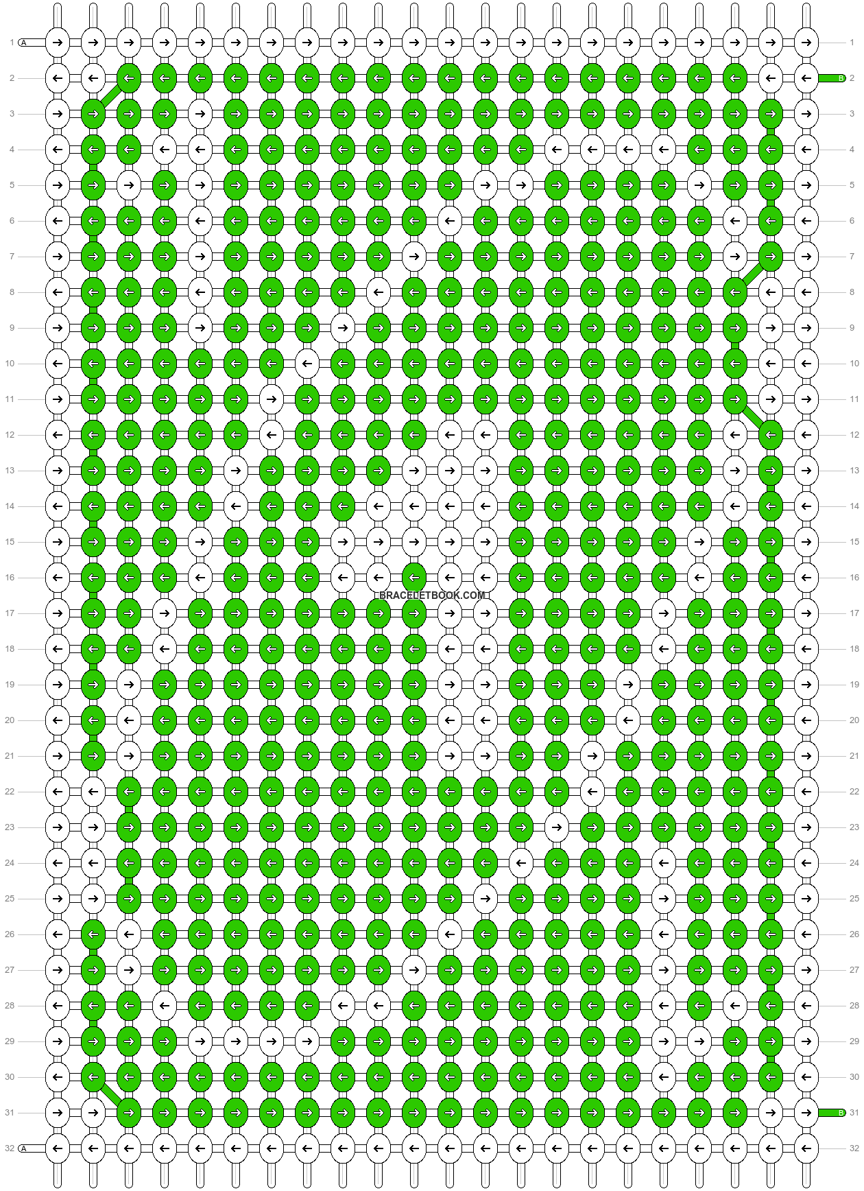 Alpha pattern #70547 variation #142997 pattern