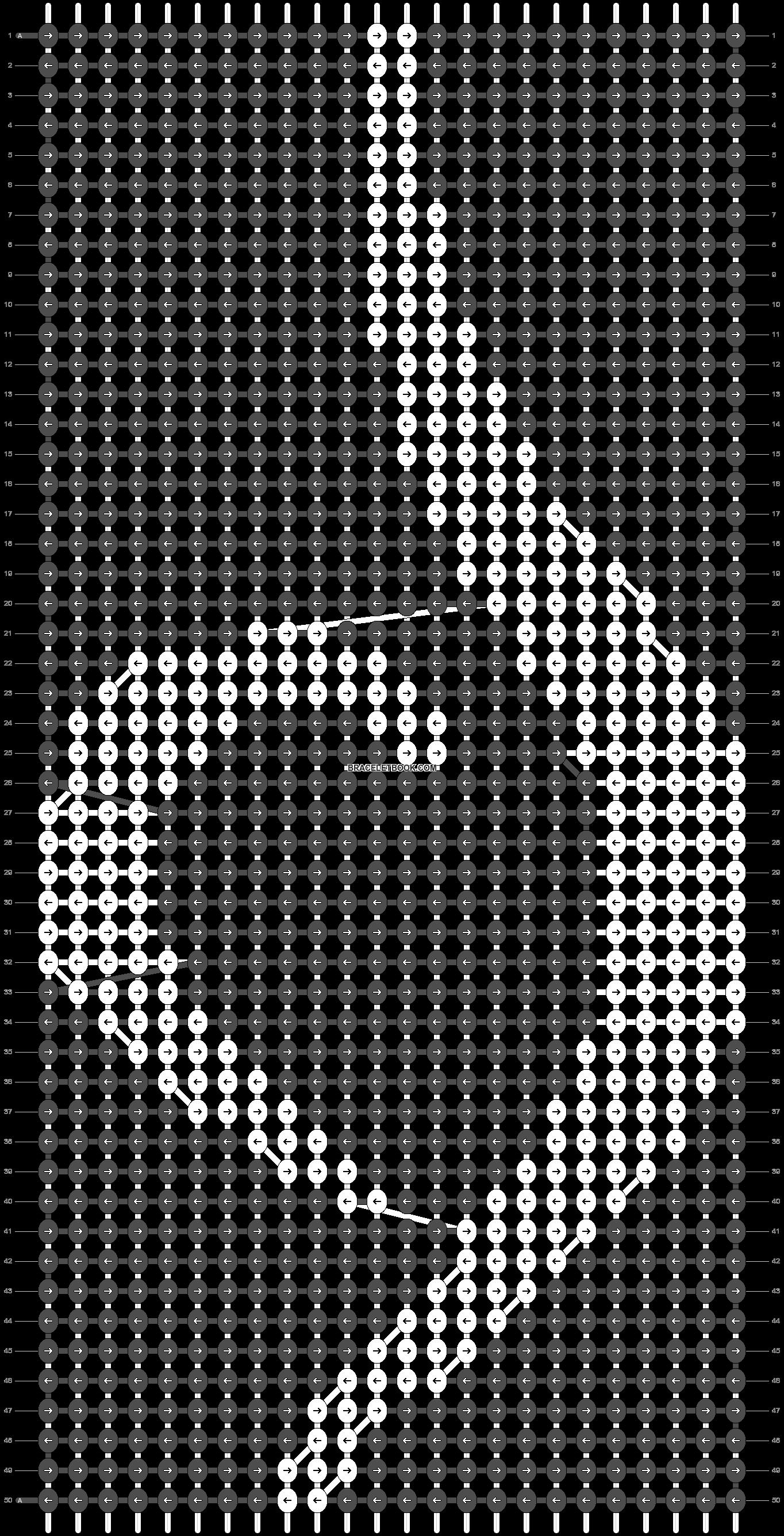 Alpha pattern #74080 variation #143568 pattern