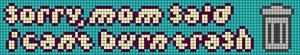 Alpha pattern #77857 variation #143786