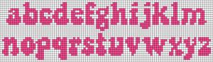 Alpha pattern #38069 variation #145306