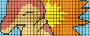 Alpha pattern #14785 variation #145736