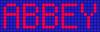 Alpha pattern #3527 variation #145746