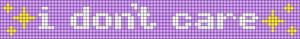 Alpha pattern #60331 variation #145877