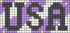 Alpha pattern #74096 variation #146625