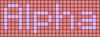 Alpha pattern #696 variation #146649