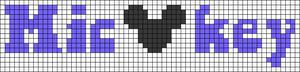 Alpha pattern #80986 variation #147358
