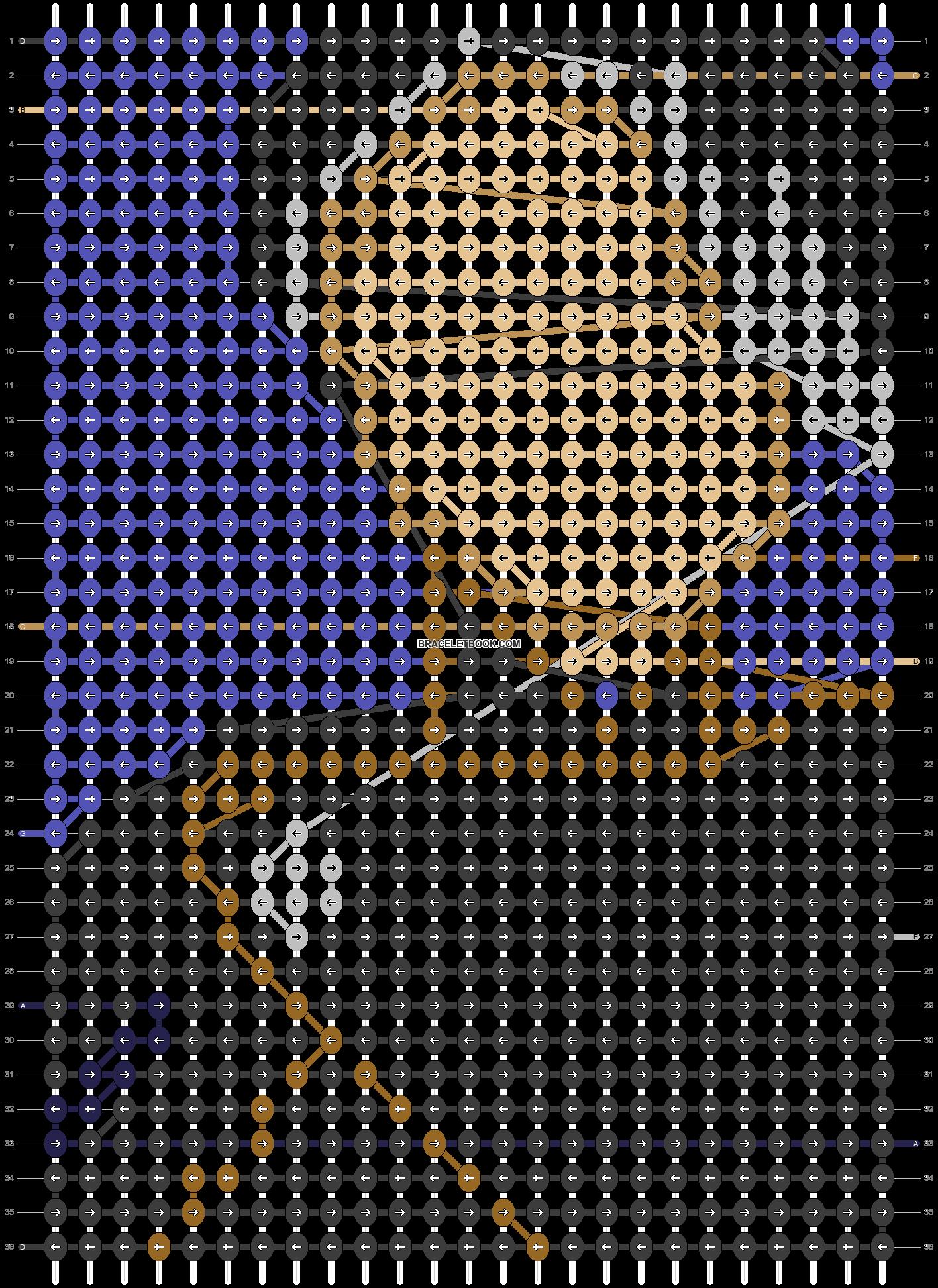Alpha pattern #71013 variation #147806 pattern