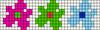 Alpha pattern #35808 variation #148016