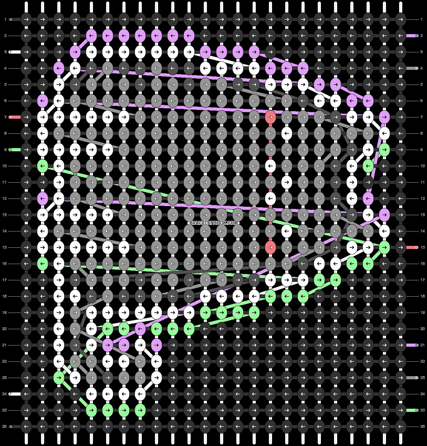 Alpha pattern #81546 variation #148364 pattern