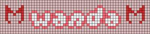 Alpha pattern #79976 variation #149445