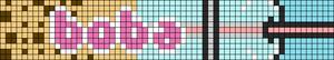 Alpha pattern #80861 variation #150376