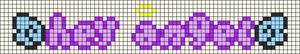 Alpha pattern #83707 variation #151839