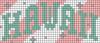 Alpha pattern #72822 variation #152264
