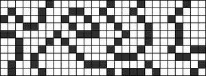 Alpha pattern #77972 variation #152602