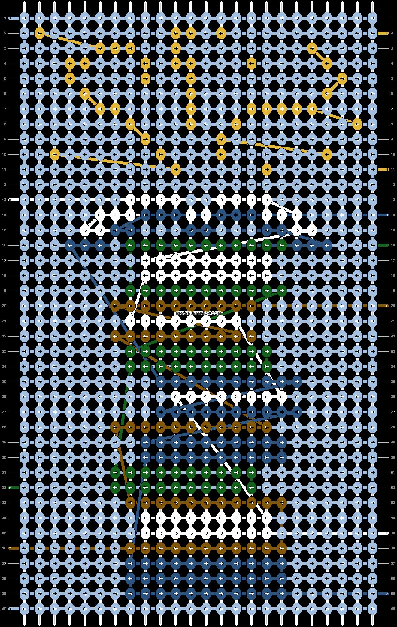 Alpha pattern #59384 variation #153273 pattern
